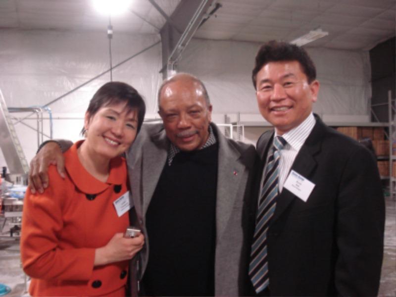 Quincy Jones 와함께.JPG